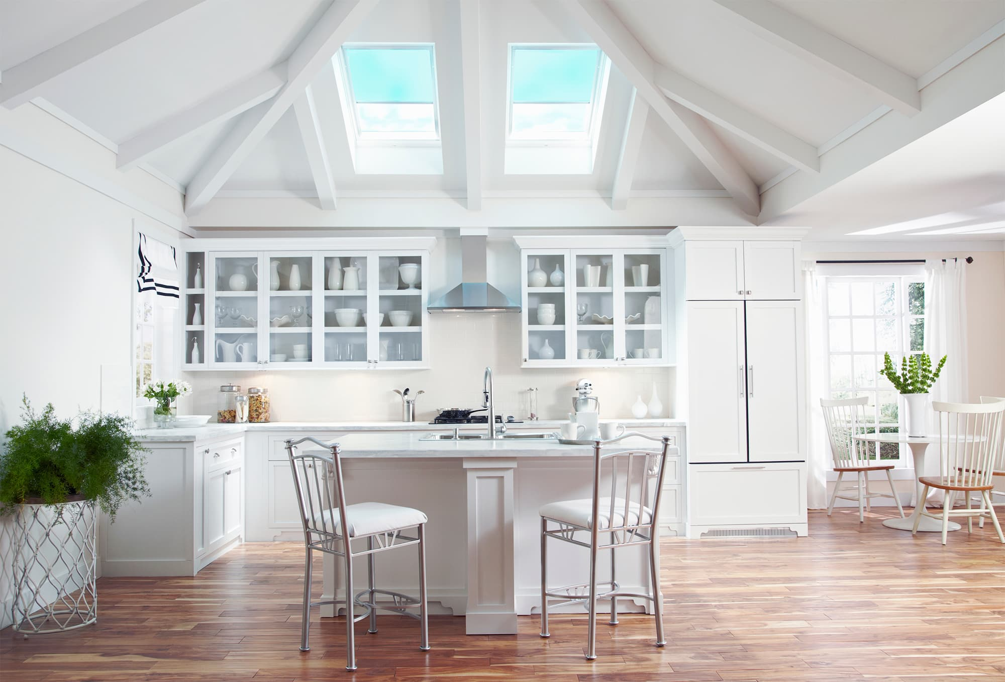 velux kitchen white
