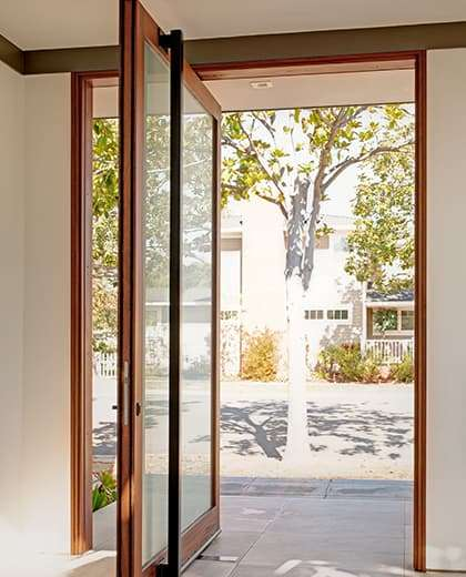 Contemporary Doors Anderson Windows and Doors