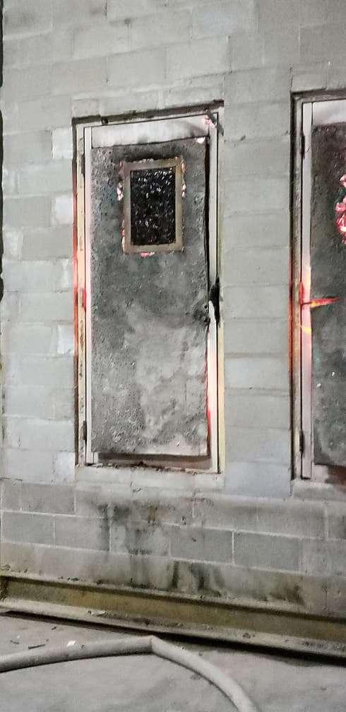 Fire Door Test