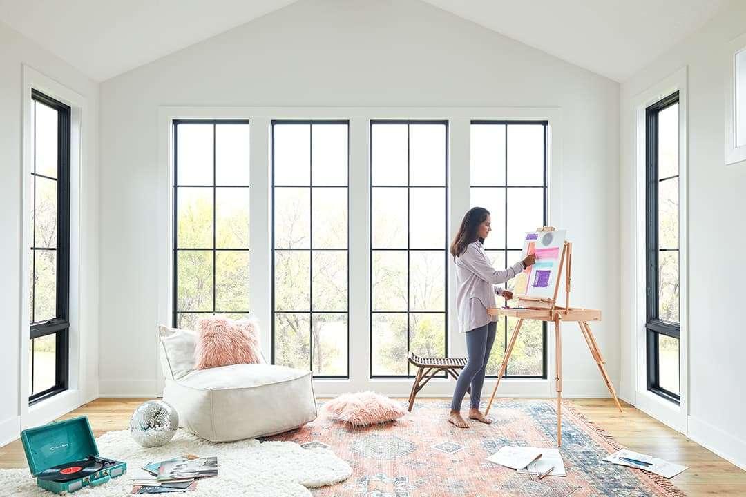 pella windows art room