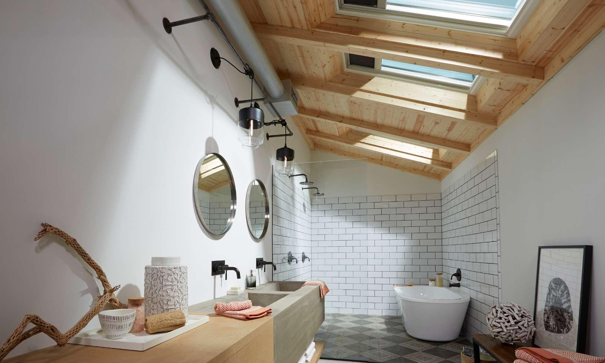 The Science of Skylights,skylights in bathroom